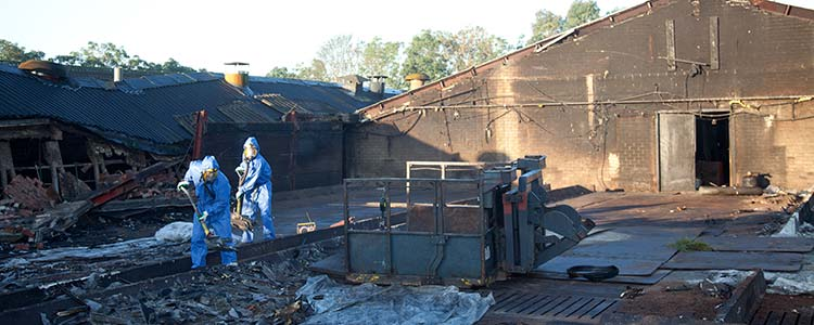 Industrial Accident Cleanup and Decontamination